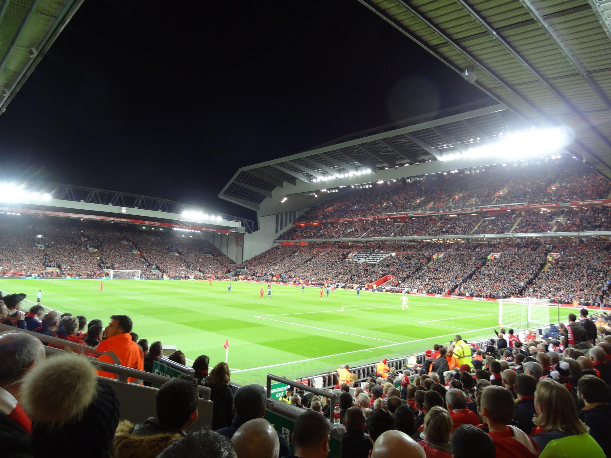 Liverpool - Manchester United: Ma première à Anfield