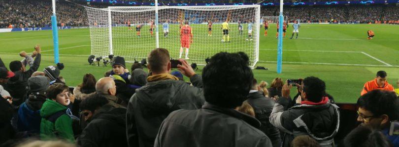 Manchester City – Shaktar Donetsk à l'Etihad Stadium