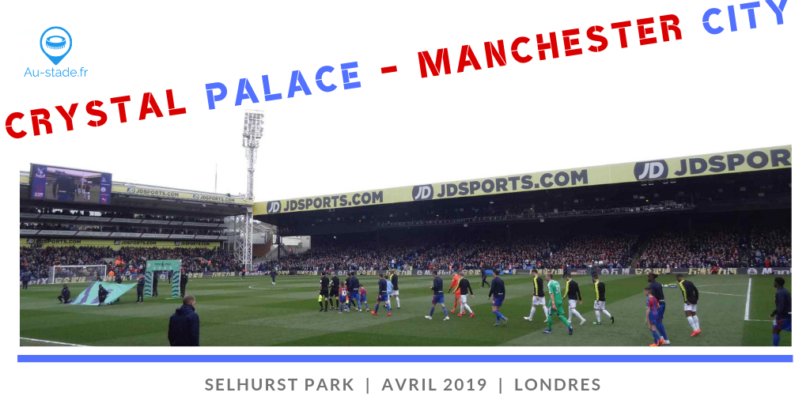 Crystal Palace – Manchester City