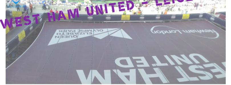 [ENGLISH] West Ham – Leicester at London Stadium : R.I.P. West Ham