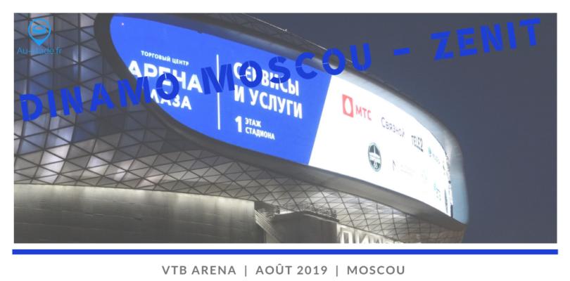 Dinamo Moscou – Zenit St Pétersbourg (Partie 1/3 avec Helsinki & Saint-Pétersbourg)