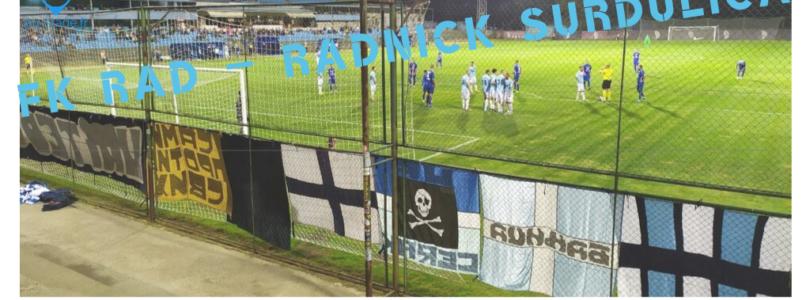 FK RAD – Radnick Surdulica et FK Radnicki – OFK Belgrade