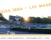 Carl Zeiss Jena – 1.FC Magdeburg : un Groundhopping au goût de revanche