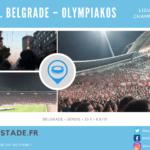 Etoile Rouge de Belgrade – Olympiakos