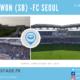 Au coeur du Super Match coréen, Suwon Samsung Bluewings-FC Seoul