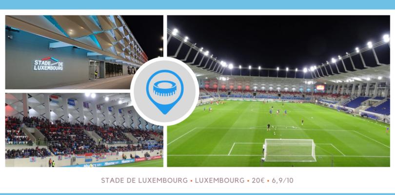 Luxembourg – Serbie au nouveau Stade de Luxembourg